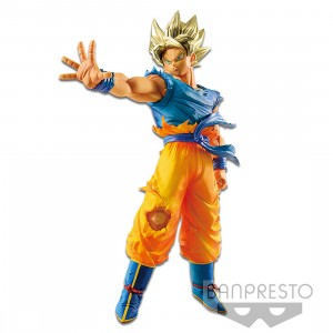 PREORDER - Banpresto Dragon Ball Z Blood Of Saiyans Super Saiyan Goku Special Ver Figure (blue)
