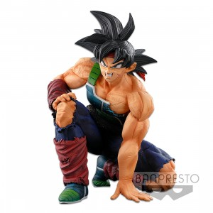 PREORDER - Banpresto Dragon Ball Super Banpresto World Figure Colosseum 3 Super Master Stars Piece The Bardock The Brush Figure (burgundy)