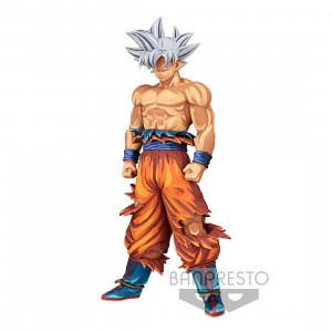PREORDER - Banpresto Dragon Ball Super Grandista Son Goku #3 Manga Dimensions Figure (orange)