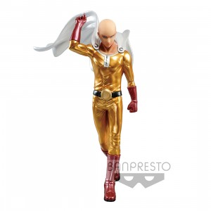 PREORDER - Banpresto One-Punch Man Saitama Metallic Color DXF Premium Figure (gold)