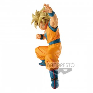 PREORDER - Banpresto Dragon Ball Super Super Zenkai Solid Vol.1 Super Saiyan Son Goku Figure (orange)