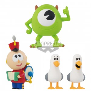 PREORDER - Banpresto Pixar Characters Pixar Fest Figure Collection Vol. 8 Set of 3 Figures (multi)