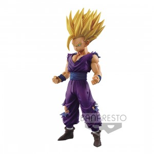 PREORDER - Banpresto Dragon Ball Z Master Stars Piece The Son Gohan Normal Color Ver. Figure (purple)