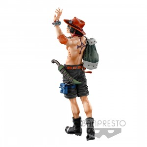 PREORDER - Banpresto One Piece Banpresto World Figure Colosseum 3 Super Master Stars Piece The Portgas D. Ace The Brush Figure (olive)