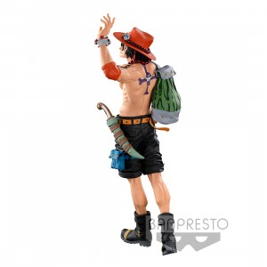 PREORDER - Banpresto One Piece Banpresto World Figure Colosseum 3 Super Master Stars Piece The Portgas D. Ace The Original Figure (green)