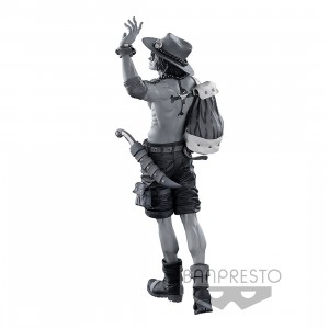 PREORDER - Banpresto One Piece Banpresto World Figure Colosseum 3 Super Master Stars Piece The Portgas D. Ace The Tones Figure (gray)