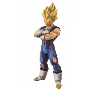 PREORDER - Banpresto Dragon Ball Z Grandista Super Saiyan Vegeta Manga Dimensions Figure Re-Run (blue)