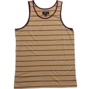 Brixton Abram Tank Top (tan)