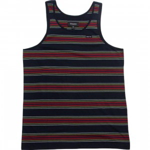 Brixton Sherman Tank Top (navy)
