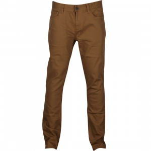 Brixton Delgado Pants (brown / copper)