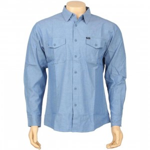 Brixton Davis Long Sleeve Shirt (light blue)