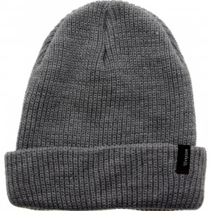 Brixton Heist Beanie (gray / light heather)