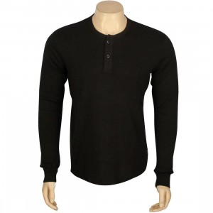 Brixton Grant Knit Sweater (black)
