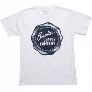 Brixton Wax Tee (white)