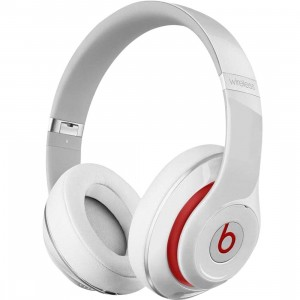 Beats By Dre Studio Wireless Over-Ear Headphones (white)
