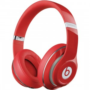 Beats By Dre Studio Wireless Over-Ear Headphones (red)