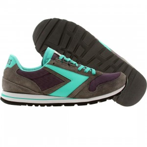 Brooks Men Chariot (gray / purple / turquoise ascension)