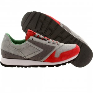 Brooks x Hanon Men Chariot - Scotch Bonnet (gray / fiery red / limestone)