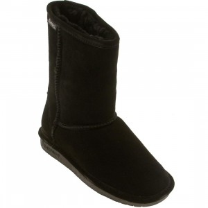 Bearpaw Women Emma Short Boot (black)