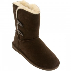 Bearpaw Women Abigail Boot (brown / chocolate)