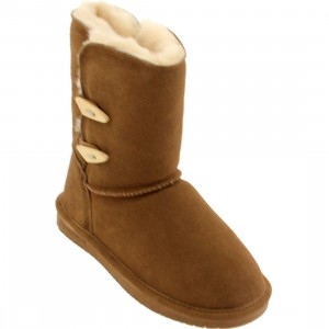 Bearpaw Women Abigail Boot (brown / hickory)