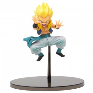 Banpresto Dragon Ball Super Chosenshi Retsuden Vol. 8 B Super Saiyan Gotenks Figure (yellow)