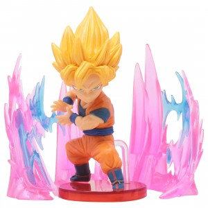 Banpresto Dragon Ball Super World Collectable Figure Plus Effect - 02 Super Saiyan Son Goku (yellow)
