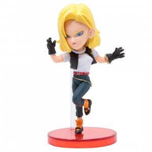 Banpresto Dragon Ball Legends Collab World Collectable Figure Vol 3 - 18 Android 18 (yellow)