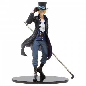 Banpresto One Piece Scultures Big Banpresto Figure Colosseum 4 Vol.5 Sabo Figure (black)