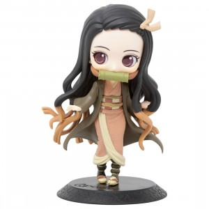 Banpresto Q Posket Demon Slayer Kimetsu no Yaiba Nezuko Kamado Ver B Figure (orange)