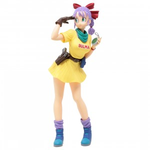 Banpresto Dragon Ball Glitter And Glamours Bulma III Ver B Figure (yellow)