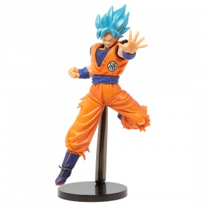 Banpresto Dragon Ball Super Chosenshi Retsuden II Vol. 4 Super Saiyan God Super Saiyan Goku Figure (orange)