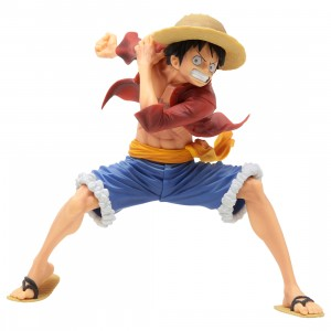 Banpresto One Piece Maximatic Monkey D. Luffy I Figure (red)