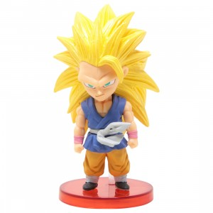 Banpresto Dragon Ball GT World Collectable Figure Vol 3 - 013 Super Saiyan 3 Son Goku (yellow)