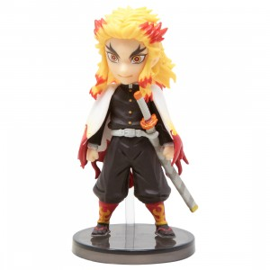 Banpresto Demon Slayer Kimetsu No Yaiba World Collectable Figure - 5 Kyojuro Rengoku (yellow)