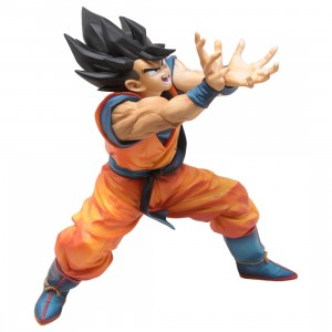 Banpresto Dragon Ball Z Son Goku Kamehameha Figure (orange)