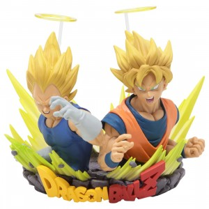 Banpresto Dragon Ball Z Com Figuration Gogeta Vol. 2 Son Goku And Vegeta Figure (yellow)