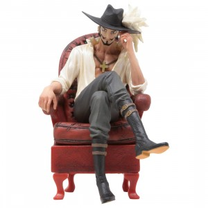 Banpresto One Piece Creator x Creator Dracule Mihawk Ver. A Figure Re-run (red)