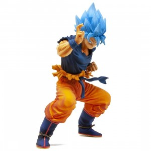 Banpresto Dragon Ball Super Masterlise Super Saiyan God Super Saiyan Son Goku Figure (orange)