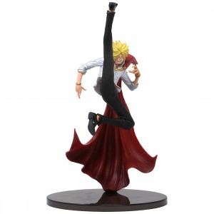Banpresto One Piece Banpresto World Figure Colosseum 2 Vol.2 Vinsmoke Sanji (red)
