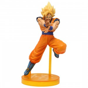 Banpresto Dragon Ball FighterZ Android Battle Super Saiyan Goku Figure (orange)