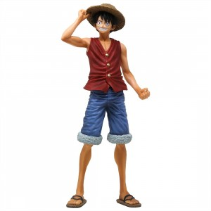 Banpresto One Piece 20th History Masterlise Monkey D. Luffy Figure (red)
