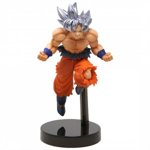 Banpresto Dragon Ball Super Z-Battle Son Goku Ultra Instinct Figure (silver)
