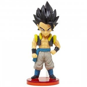 Banpresto Dragon Ball Super Broly World Collectable Figure Vol 1 - 03 Gogeta (gray)
