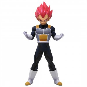 Banpresto Dragon Ball Super the Movie Chokoku Buyuden Super Saiyan God Vegeta Figure (pink)
