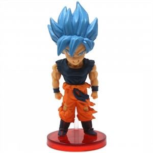 Banpresto Dragon Ball Super Broly Movie World Collectable Figure Vol 2 - 07 Super Saiyan Blue Goku (blue)
