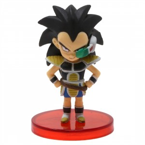 Banpresto Dragon Ball Super Broly Movie World Collectable Figure Vol 2 - 10 Young Raditz (black)