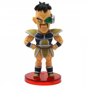 Banpresto Dragon Ball Super Broly Movie World Collectable Figure Vol 2 - 11 Nappa (tan)
