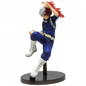 Banpresto My Hero Academia The Amazing Heroes vol 2 Shoto Todoroki Figure (navy)