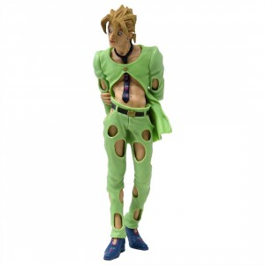 Banpresto JoJo's Bizarre Adventure Golden Wind JoJo's Figure Gallery 5 - Pannacotta Fugo (green)